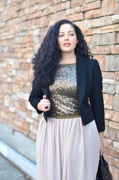 Girl With Curves: Sequins