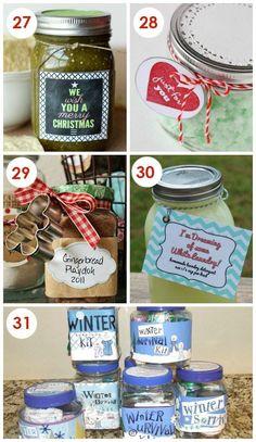 Easy Neighbor Gift Ideas In a Jar