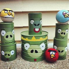 Angry Birds Party Games
