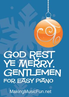 God Rest Ye Merry, Gentlemen | Free Easy Piano Sheet Music (Digital Print)  Format: PDF/Digital Print  Pages: 2  #pianosheetmusic #easypiano #pianolessons #MakingMusicFun Christmas Piano Sheet Music, Easy Piano Sheet Music, Free Printable Sheet Music, Printed Pages, Elementary Music, Piano Lessons, Print Format, Music Education, Christmas Carol