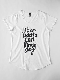 c9c0a87304aa6a Typography Quote Women s Premium Tee by Uzualsunday. Find your thing. Funny  Tees