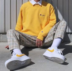 Sencillo Indie Outfits, Retro Outfits, Vintage Outfits, Fashion Outfits, Urban Outfits, Stylish Mens Outfits, Cute Casual Outfits, Outfits For Boys, Casual Shirts