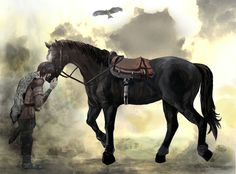 With you by 昆布らっこ See Games, Last Shadow, Attack On Titan, Game Art, Wander, Video Games, Horses, Culture, Sleeve