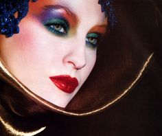 Christian Dior Maquillage, Harper's Bazaar, September 1986; Makeup by Tyen