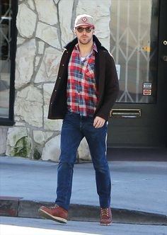 Ryan Gosling is spotted having breakfast at Little Dom's on March 3, 2017 in Los Angeles