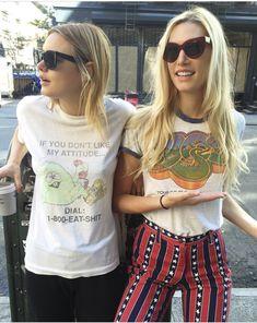 Camille Rowe and Djuna Bel Looks Style, Looks Cool, My Style, Hippie Style, Boho Style, Boho Chic, Bohemian, Charlotte Rampling, Alexa Chung