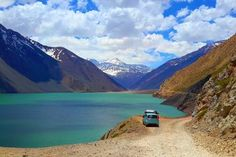 Day Trip to Cajon Del Maipo and Embalse el Yeso from Santiago in Dominican Republic Central America Central America, South America, Resorts, Places To Travel, Places To Visit, Andes Mountains, Day Tours, Vacation Destinations, Day Trip