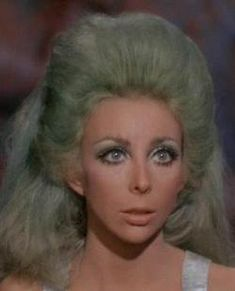 "Angelique Pettyjohn (1943 – 1992) was an American actress and dancer. She is most likely best known for her role as Shahna in the ""Star Trek"" television episode ""The Gamesters of Triskelion"". She died of cervical cancer."