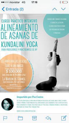 Curso de Asanas en Chile