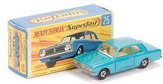 Matchbox Superfast MB25-d Ford Cortina GT