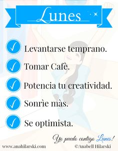 Si amas lo que haces, ni los Lunes te quitan la Sonrisa =) #Lunes #Motivacion #Exito
