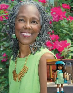 American Girl Author Denise Lewis Patrick Talks Melody Ellison's Story, Racism & That Hair Flip Pastel Blue Hair, Lilac Hair, Green Hair, Grey Hair Journey, Silver Hair Dye, Silver Haired Beauties, Red Scene Hair, Natural Hair Styles, Long Hair Styles
