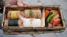 katsuo gohan bento (bonito rice bento) - takeout bento by maki, via flickr