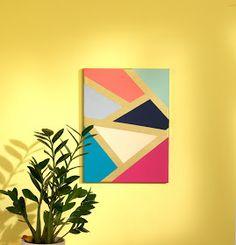 Design, Create, Inspire!: Geometric Art Canvas