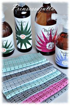 Caron Yarn, Crochet Dishcloths, Old Ones, Potholders, Household, Colours, Cool Stuff, Pattern, Diy