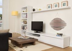 Valley TV Cabinet With Shelving | Wall Units | TV Units