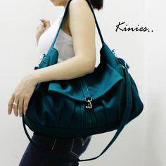 KINIES CLASSIC in Dark Turquoise Green via DaWanda.com
