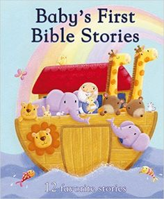 Baby's First Bible Stories (First Padded): Parragon Books: 9781445445687: Amazon.com: Books