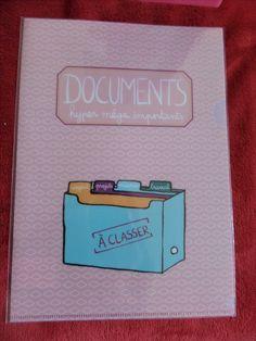 Pochette protège documents