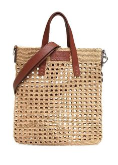 Shop Women's Dolce & Gabbana Totes and shopper bags on Lyst. Track over 3977 Dolce & Gabbana Totes and shopper bags for stock and sale updates. Crotchet Bags, Crochet Market Bag, Crochet Tote, Crochet Handbags, Crochet Purses, Knitted Bags, Crochet Yarn, Shopper Bag, Tote Bag