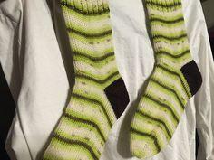 Ravelry: Jadedgn's Kiwi socks