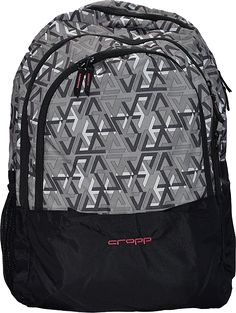 Buy Cropp Exclusive Nylon Made, 46 Cm Black - Print Soft Shell Backpack from Amazon.