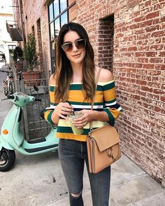 Happy Monday! Running around catching up on life today, even though it's still super hot! Anyone else ready for fall weather in LA? 😆 - Brittany Xavier (@thriftsandthreads)