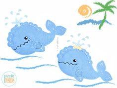 Whale Animal Rug or Nursery Mat Crochet Pattern PDF