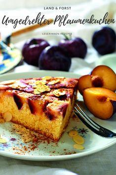 Pflaumenkuchen umgedreht! French Toast, Breakfast, Winter, Food, Fall, Summer Recipes, Baking, Morning Coffee, Winter Time