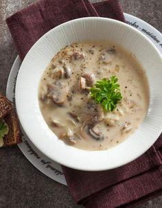 Savujuustoinen sienikeitto | K-ruoka