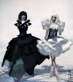 macabre yin and yang?