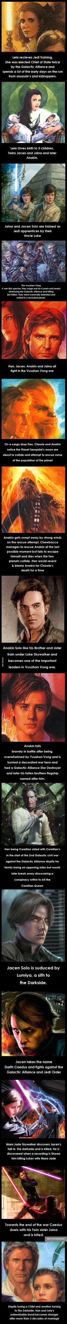 Star Wars History Solo Family (Pre-Disney) - 9GAG