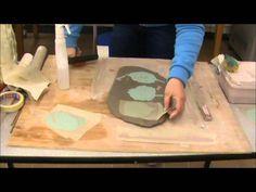 mono printing onto ceramics part 2