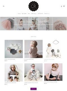 DEMOS | Merry and Bright. we build shopify shops and drop shipping shops at affordable prices