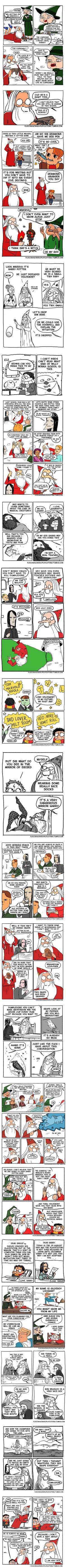 Dumblemore (By floccinaucinihilipilification)  DUMBLEBURN :D