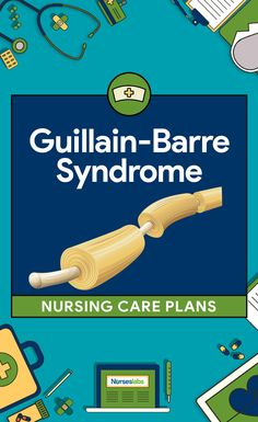 Nursing care planning goals for a pediatric client with Guillain-Barre syndrome include improved respiratory function, promotion of physical mobility, prevention of contractures. Here are six nursing care plans (NCP) for Guillain-Barre Syndrome (GBS). Nursing Care Plan, Critical Care Nursing, Nursing Tips, Cardiac Nursing, Nursing Diagnosis, Nursing Profession, Nursing Career, Guillain Barre Syndrome, Nursing Information