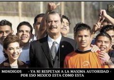ASI EMPESO TODO. POBRE DE MI MEXICO