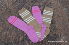 #anglesocks #woolensocks #stripes #handmade #madeinfinland #webshop #giftidea