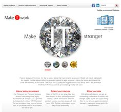 Toshiba lanseaza campania pan-Europeana 'Make IT work'