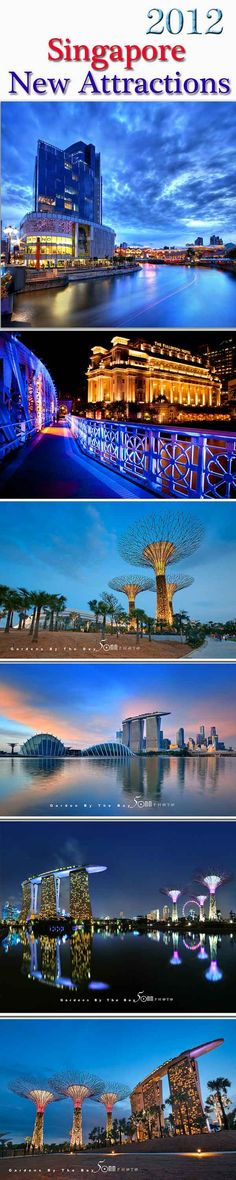 New Attraction in Singapore. Garden by the Bay.