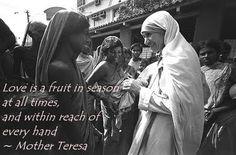 Mother Teresa heart