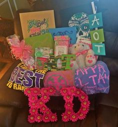Big/Lil Basket KD at East Carolina University! submitted by: k8tybugs