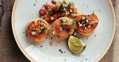 Fish Recipes, Seafood Recipes, Cooking Recipes, Bbc Recipes, Seafood Dishes, Fish And Seafood, Cucumber Relish Recipes, Scallop Dishes, Tomato Relish