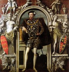 English Mannerism: Henry Howard, Earl of Surrey, 1546, a rare English Mannerist portrait by a Flemish immigrant.