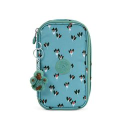 Kipling 50 Pens Printed Case ($25) ❤ liked on Polyvore featuring home, home decor, office accessories, fan florals, writing markers, floral pencil case, stick pen, writing pens and kipling pencil case