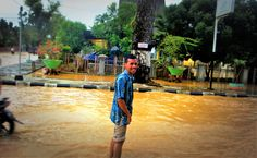 kebanjiran pada waktu itu..