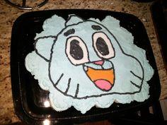 Amazing World of Gumball cupcake cake