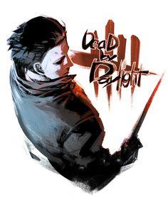 Dead by Daylight The Shape Art by Kawarayane Arte Horror, Horror Art, Dark Beauty, Scary Movies, Horror Movies, Slasher Movies, Anime Galaxy, Scary Art, Horror Icons