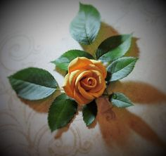 Sculpting, Polymer Clay, Facebook, Yellow, Rose, Flowers, Plants, Sculpture, Pink