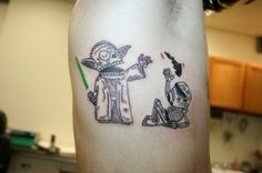 AWESOME #star #wars #tattoos